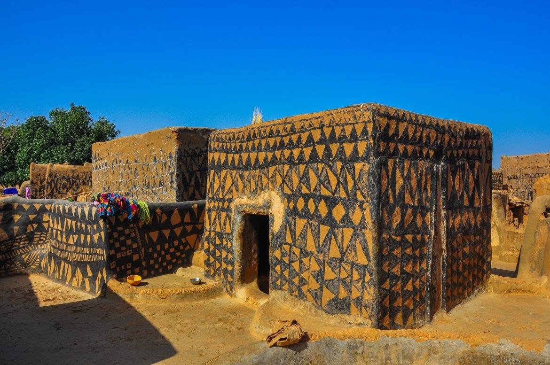 Casa tradicional en Toumousseni