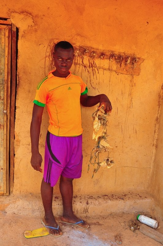 Hijo del guardián del baobab
