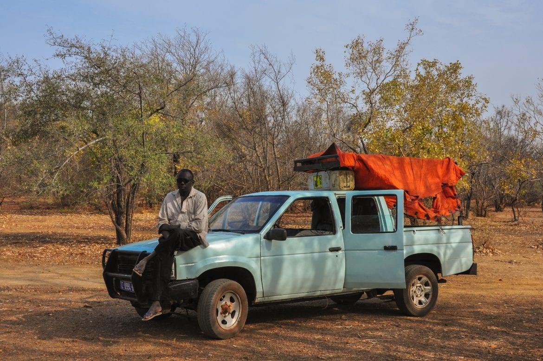 Vehículo para explorar Niokolo-Koba