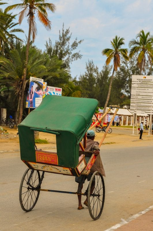 Pousse-pousse en Toliara