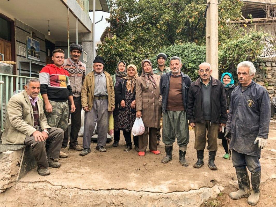 Habitantes de Andej