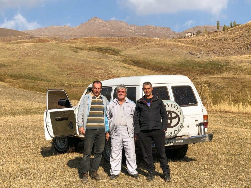 Autoestop en Alamut