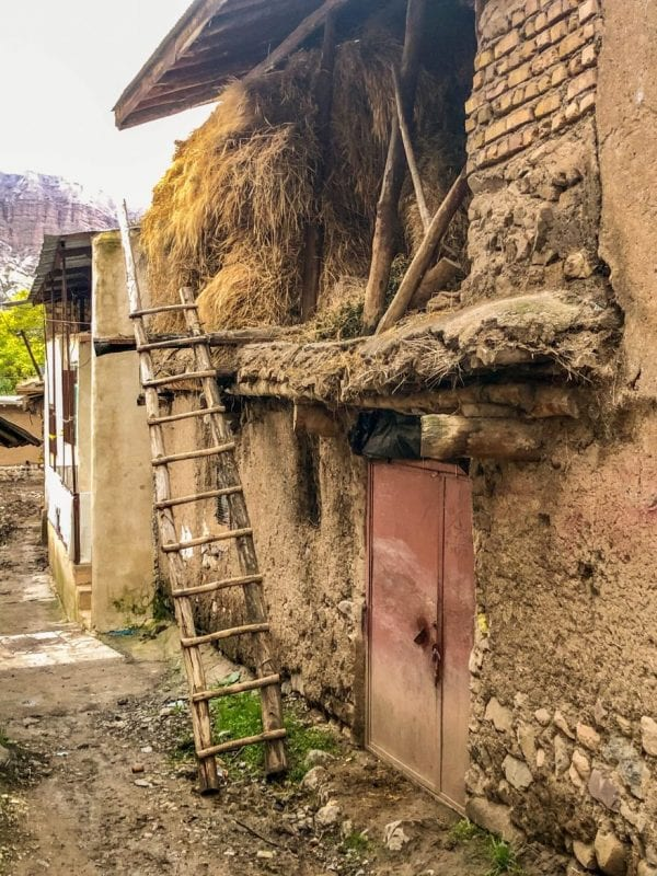 Vivienda tradicional en Alamut