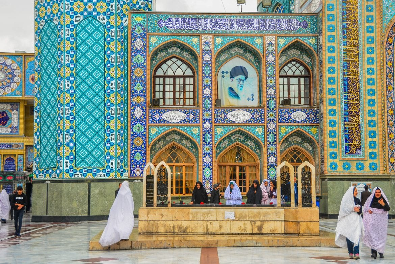Mezquita en Teheran